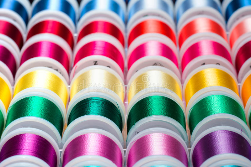 Sewing Thread stock photography