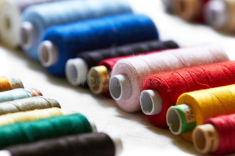 Sewing thread. Set - home objects stock image
