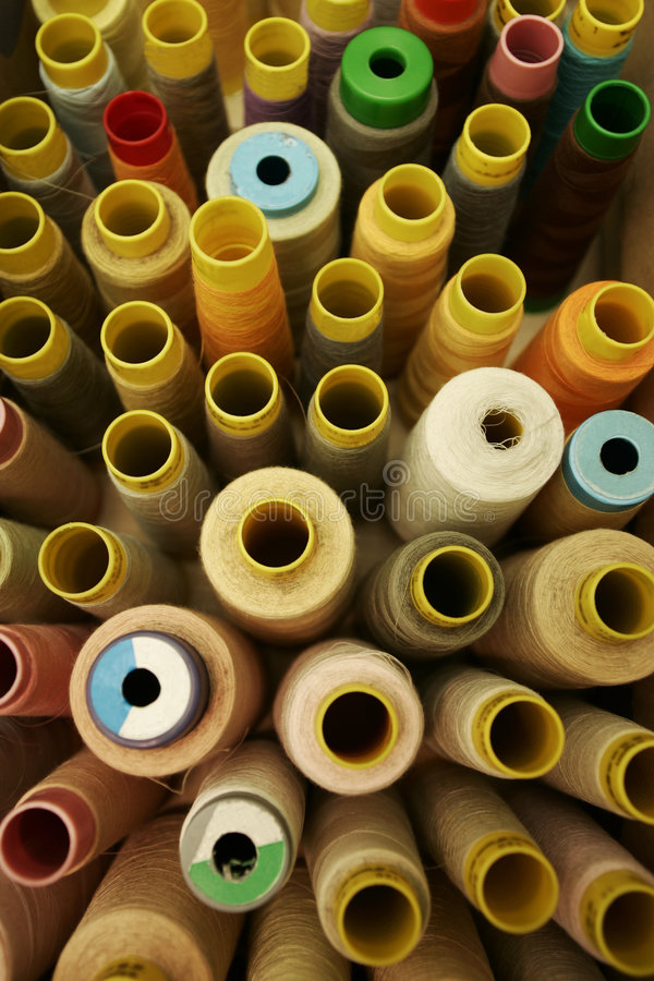 Free Sewing Thread Spools Stock Image - 2052671