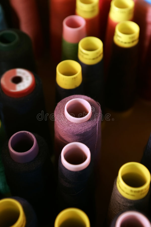 Free Sewing Thread Spools Royalty Free Stock Photography - 2160897