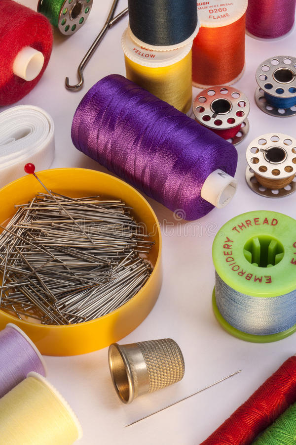 Download Sewing Threads stock photo. Image of color, thread, yarn - 27994296