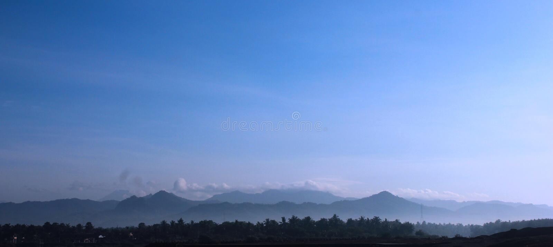 Sewu de Gunung fotografía de archivo