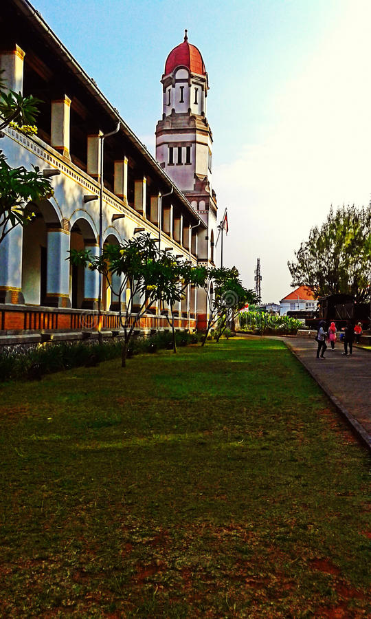 sewu lawang на городе semarang стоковые фотографии rf