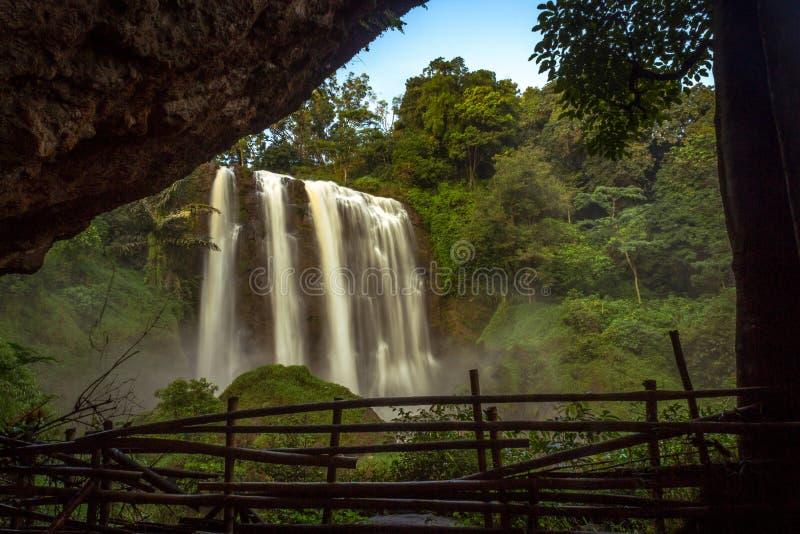 sewu Wasserfälle stockfoto