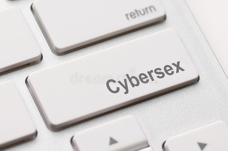Sex button on keyboard stock photography