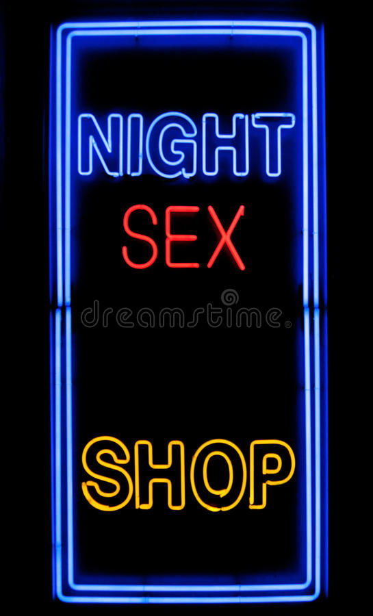 Download Sex shop sign stock image. Image of commercial, shopping - 15744943