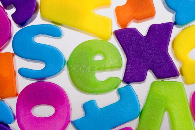 Download Sex word stock photo. Image of letters, unique, colors - 6247018