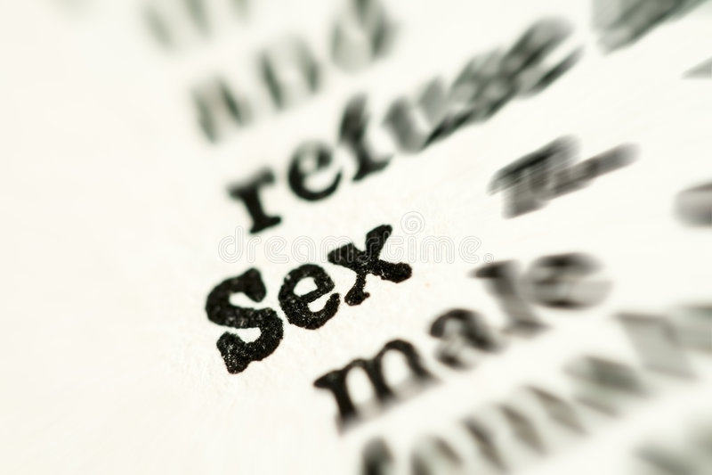 Dictionary of sex terms