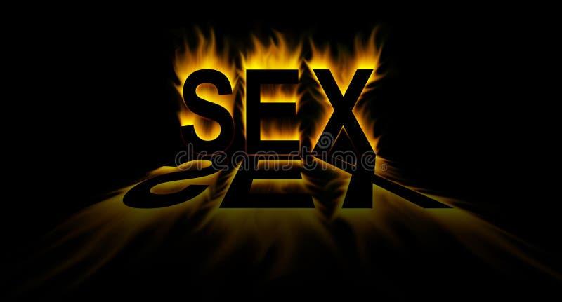 Sexe illustration stock