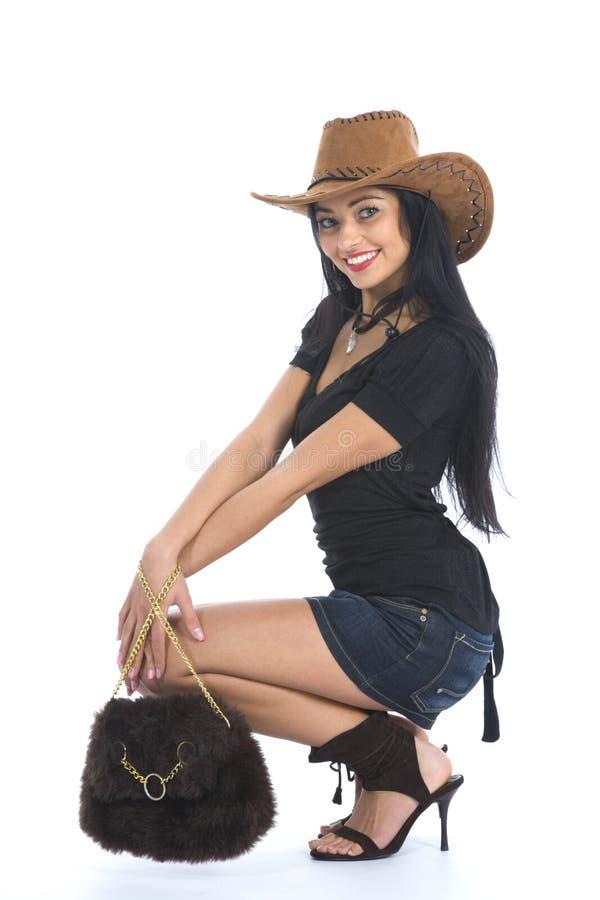 sexig cowboy arkivbilder