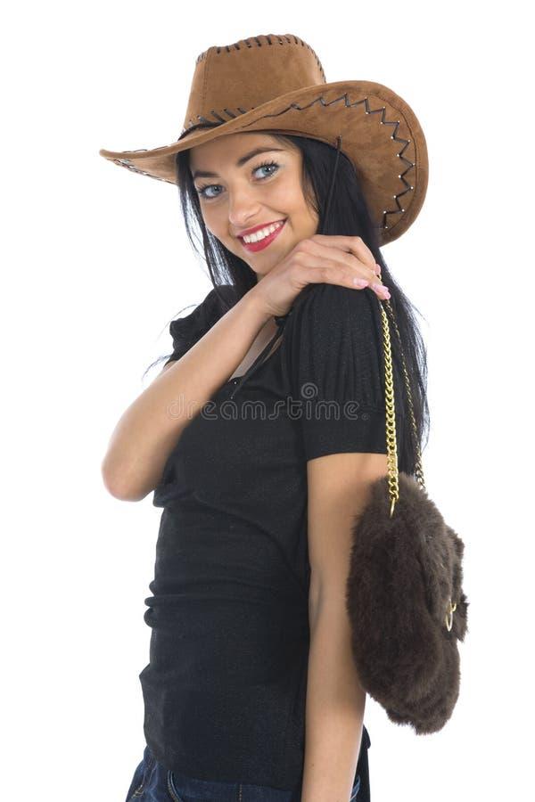 sexig cowboy royaltyfria foton