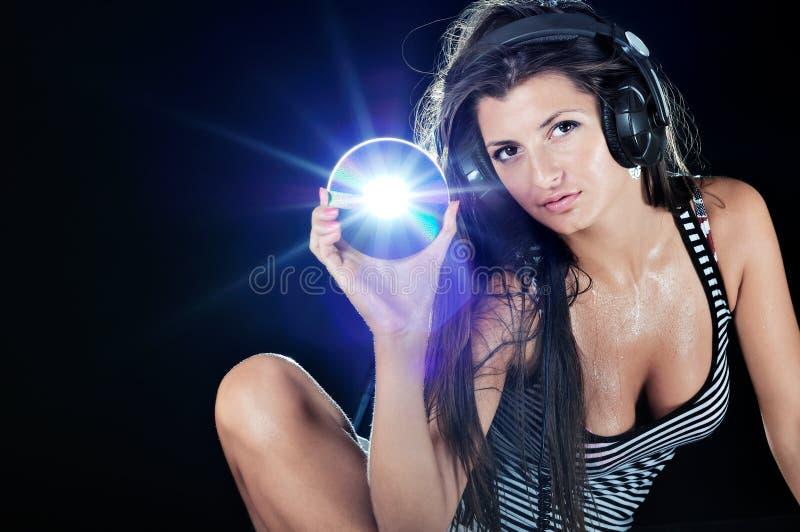 sexig dj fotografering för bildbyråer