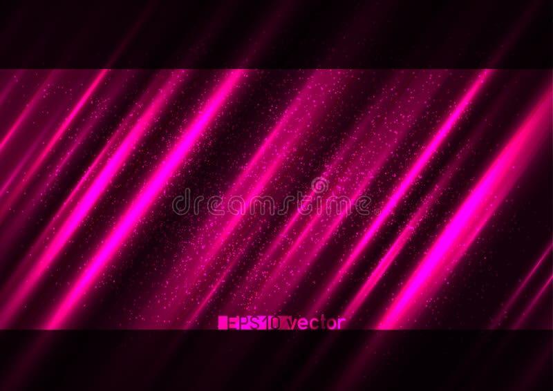 Sexig erotisk rosa ljus ljus bakgrund stock illustrationer
