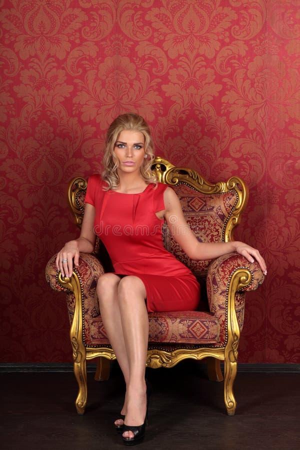 sexig flicka royaltyfri bild