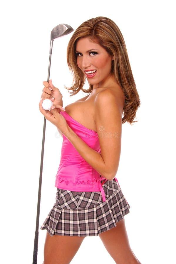 Download Sexig golfare fotografering för bildbyråer. Bild av tits - 236067