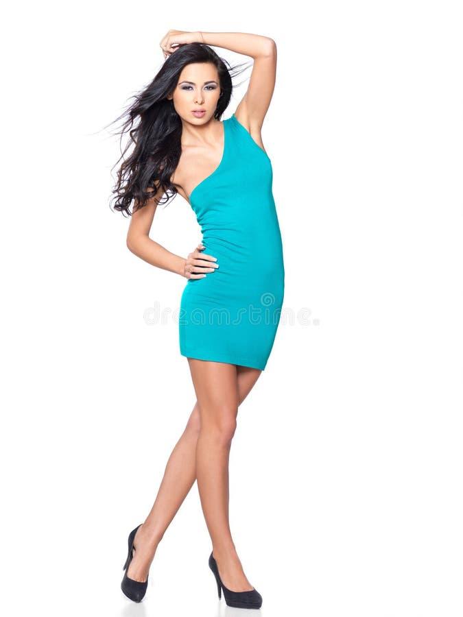 sexig klänning arkivbild