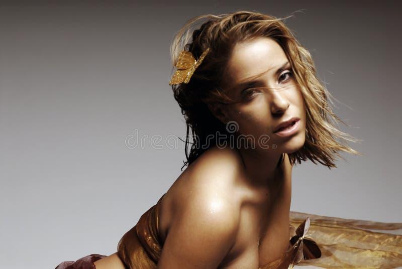 sexig kvinna arkivbild