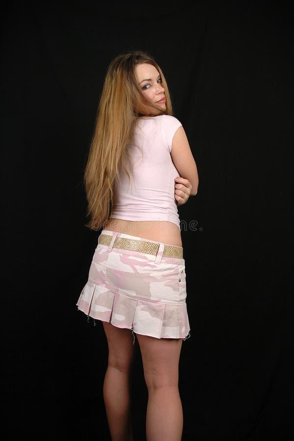 Sexig Kvinna 7 Arkivbild