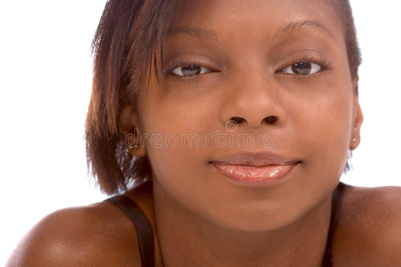 sexig kvinna för afrikansk amerikan royaltyfri fotografi