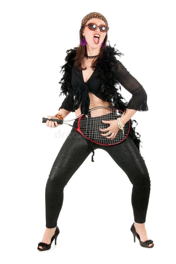 sexig kvinna för hippie royaltyfri fotografi