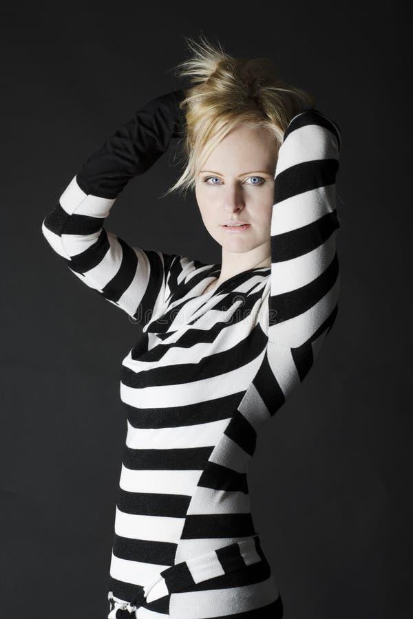 Sexig ung kvinna arkivbilder