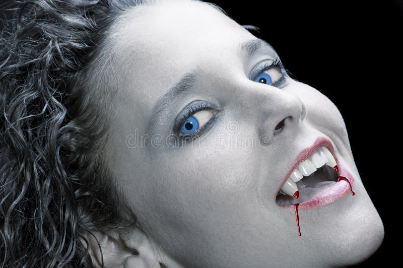 sexig vampyr royaltyfri bild