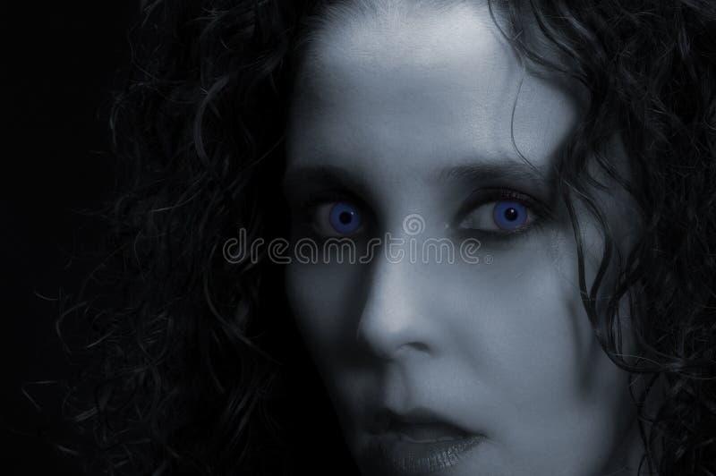 sexig vampyr royaltyfria bilder