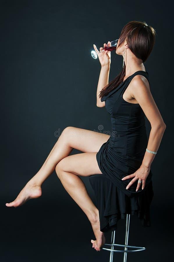 sexigt kvinnabarn för stående fotografering för bildbyråer