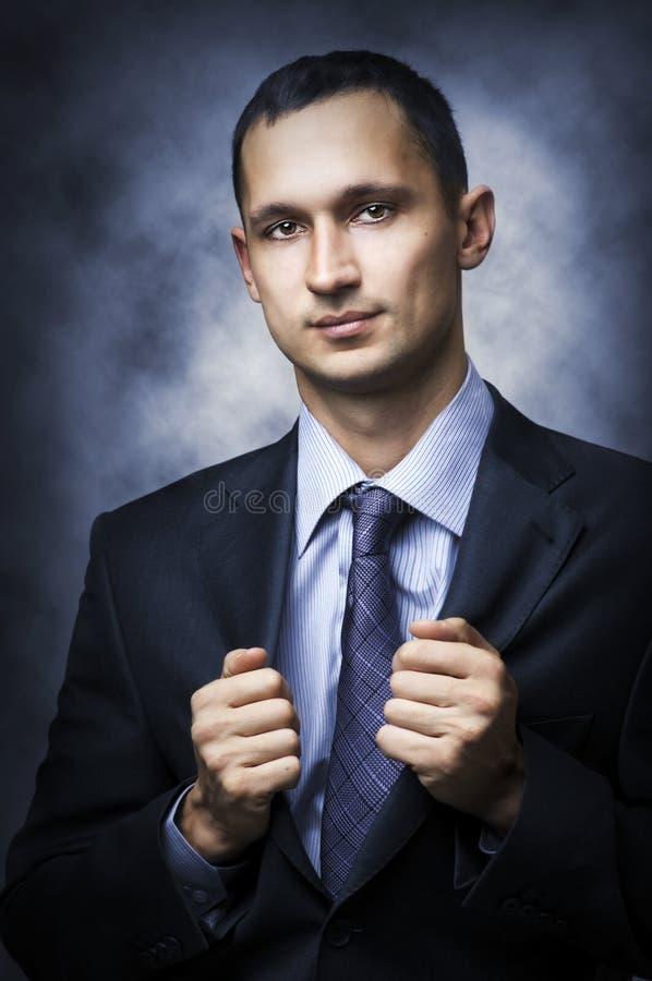 sexigt lyckat barn för affärsman royaltyfria foton