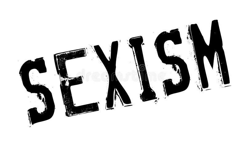 Sexismusstempel lizenzfreie abbildung