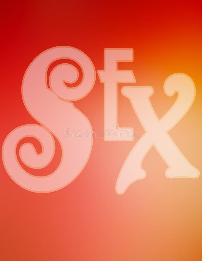 Sexo ilustração do vetor