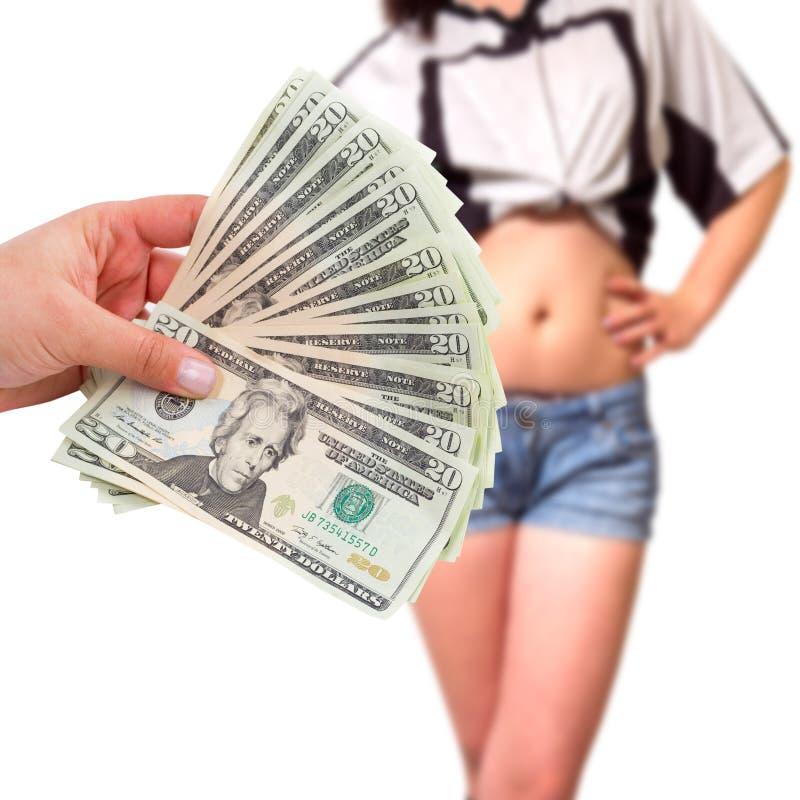 Sexo para el dinero fotografía de archivo libre de regalías