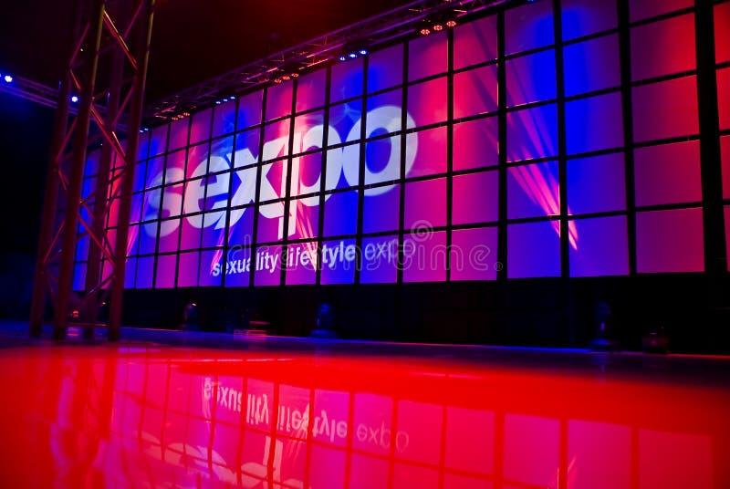 SEXPO 2011 - 10ème événement annuel images libres de droits