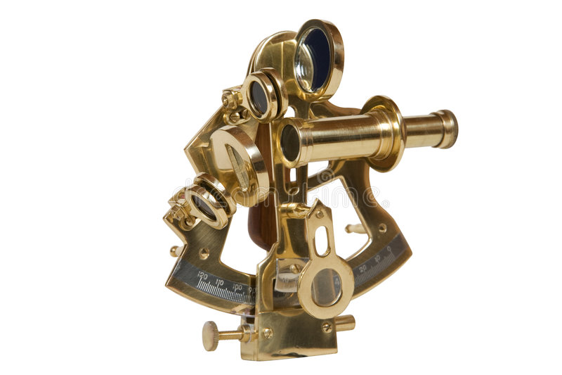 sextant royaltyfri bild