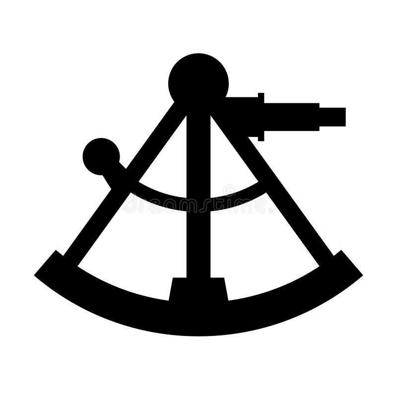 sextant illustrazione vettoriale