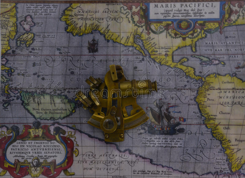 sextant image stock