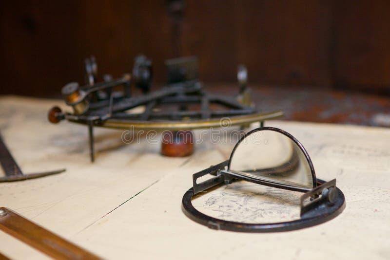 sextant photos stock