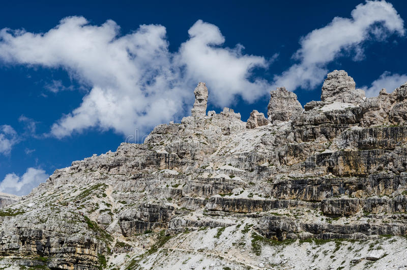 Sexten Dolomites in South Tyrol, Italy royalty free stock photo