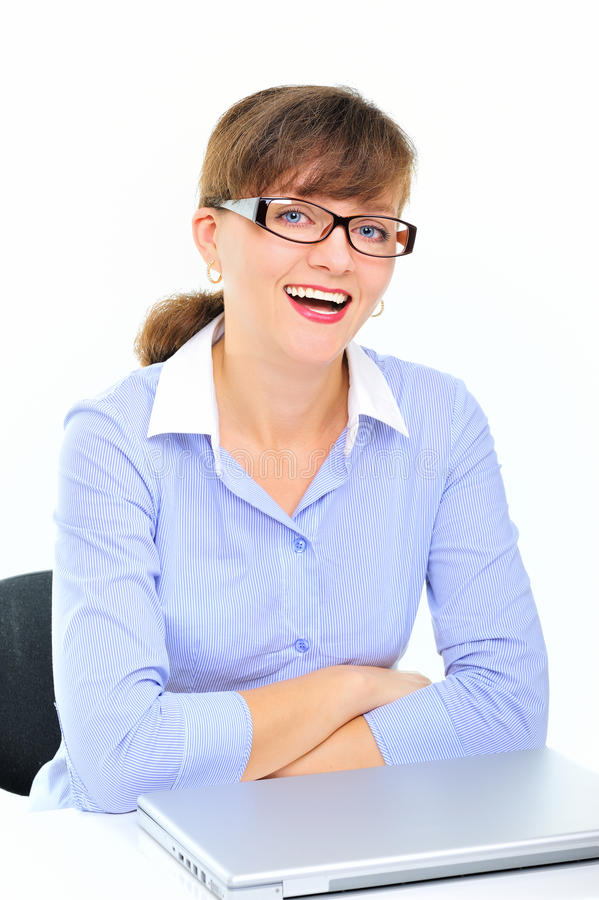 Download Sexual Businesswoman In The Office Stock Image - Image: 15019205