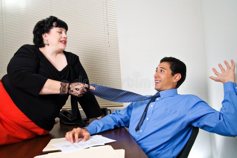 Sexual Harrassment stock image