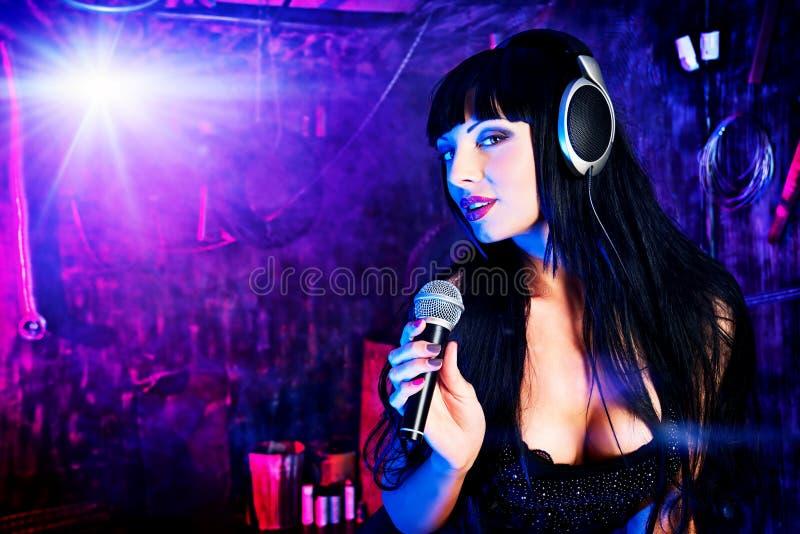 Sexueller Sänger stockfotografie