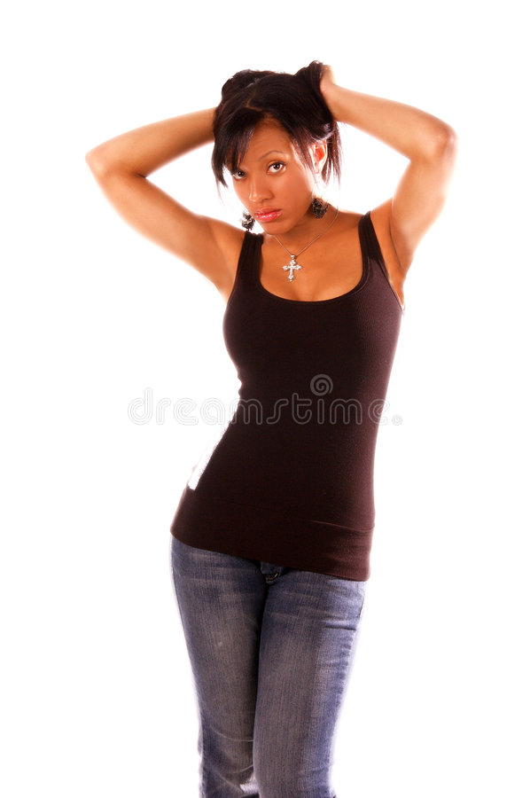 African American Woman royalty free stock images