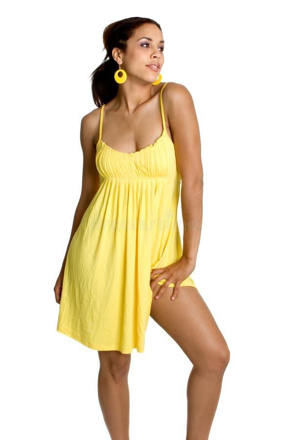 Sexy Afrikaanse Amerikaanse Vrouw stock foto's