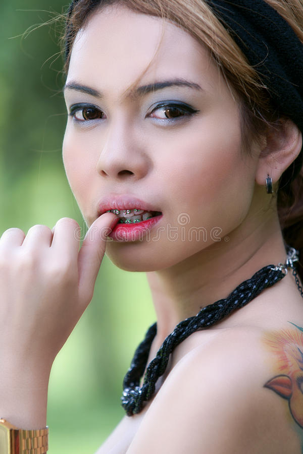 Download Asian Girl Portrait Stock Photos - Image: 23057413