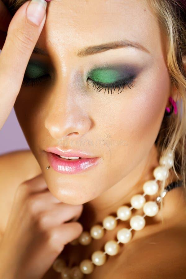 Download Asian woman stock image. Image of makeup, studio, pretty - 17229347