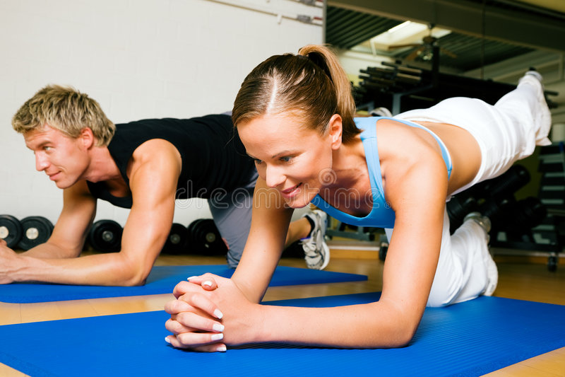 Download Gymnastics stock photo. Image of sport, couple, active - 6417450