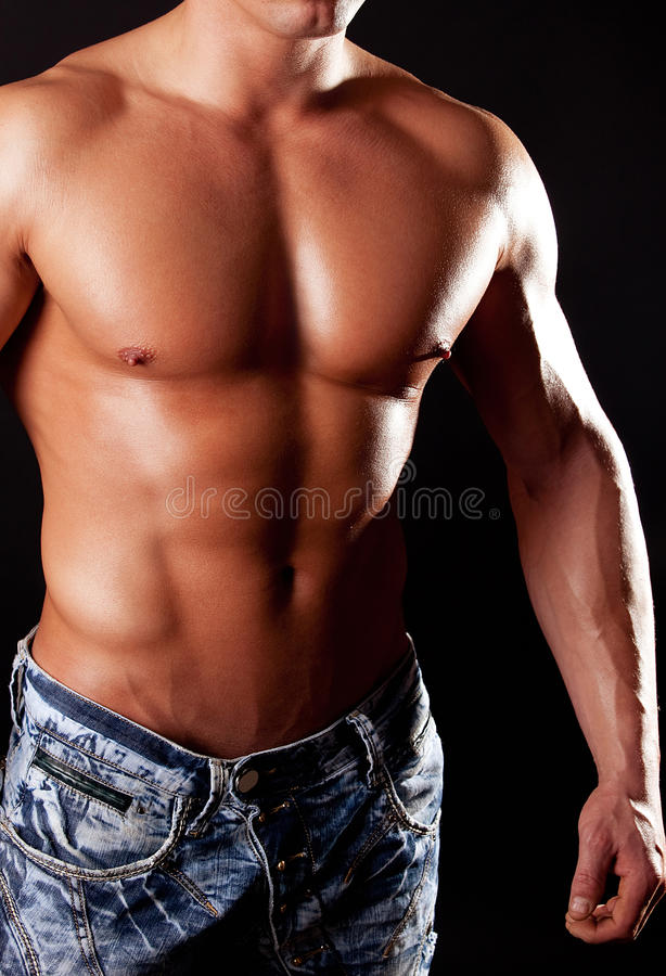 athletic figure stock photography