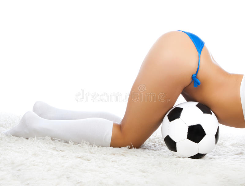 Back Of Player Royalty Free Stock Photography