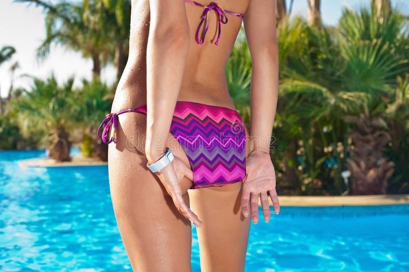 Download Backside In Swimwear Royalty Free Stock Image - Image: 25799296