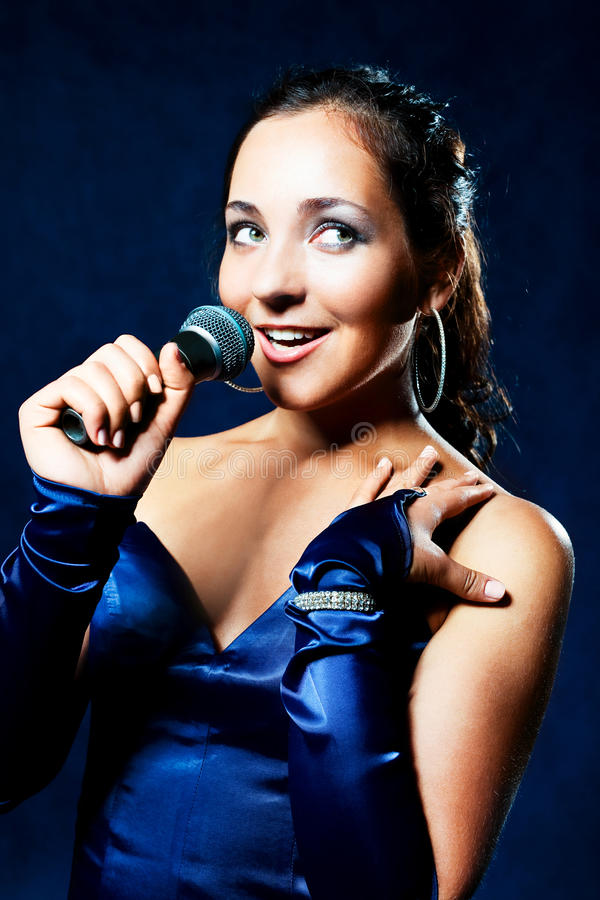 beautiful singer stock photos